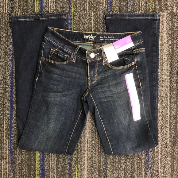 ccc4c40a1dd Mossimo Supply Co. Jeans | Mossimo Dark Wash Low Rise Bootcut Nwt ...